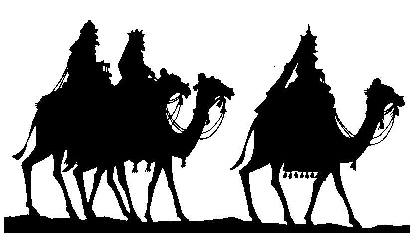 Graphics Christmas three kings