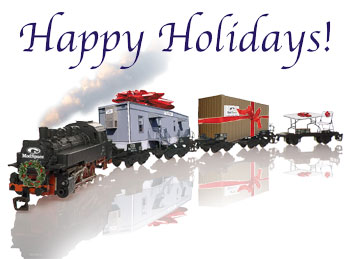 Christmas train graphics
