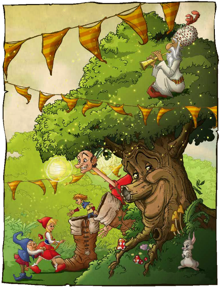 Fairy tree graphics