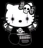 Hello kitty emo graphics
