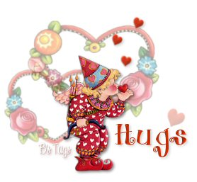 Kisses hugs graphics