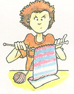 Knitting graphics