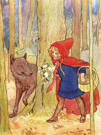 Graphics Little red riding hood