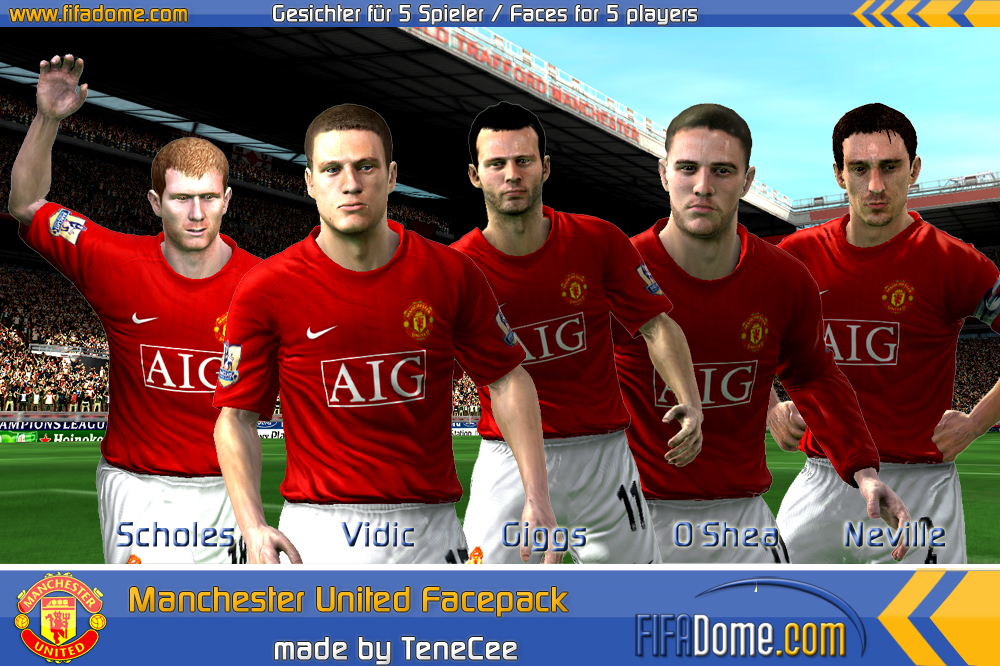 Manchester united graphics