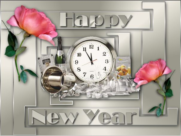 Old and new year graphics