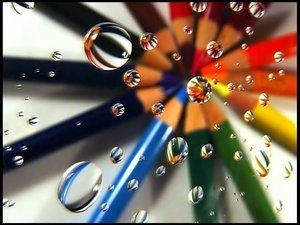 Pencils graphics