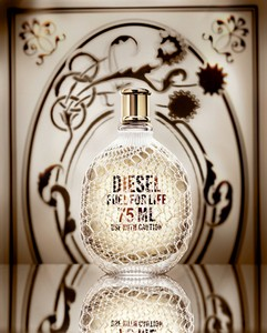Perfume bottle graphics
