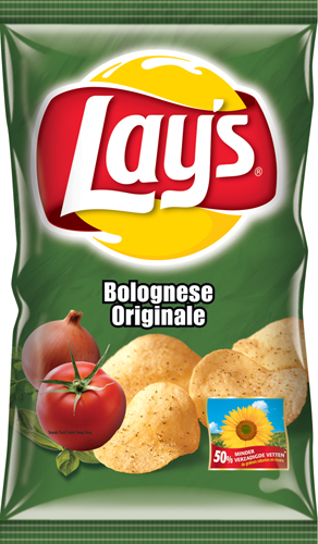 Potato chips graphics