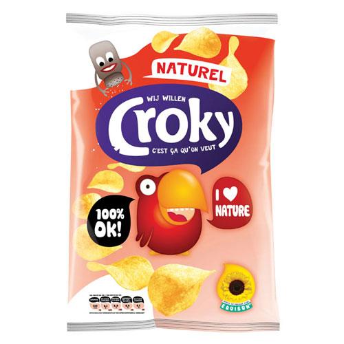 Potato chips graphics