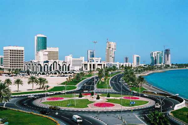 Qatar graphics