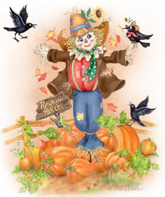 Scarecrow Graphic Animated Gif - Graphics scarecrow 881503
