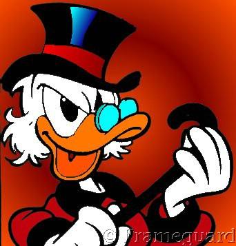 Scrooge mcduck graphics