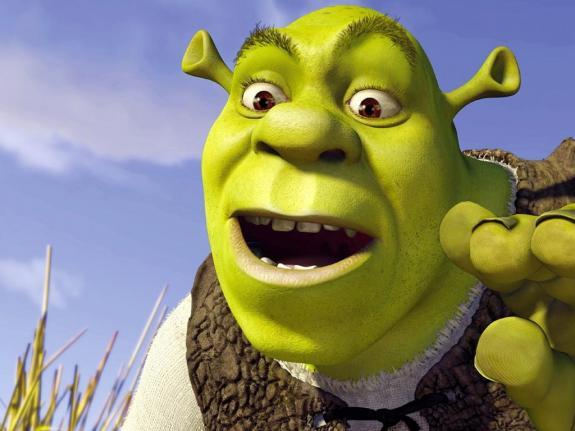 Shrek graphics