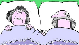 Sleeping graphics