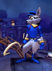 Sly cooper Graphics and Animated
