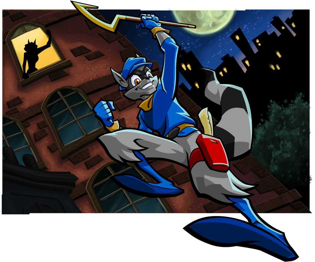 Sly cooper graphics