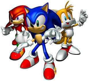Graphics Sonic the hedgehog
