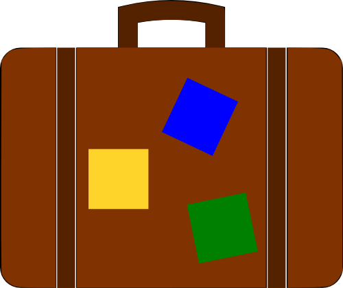 Suitcase graphics