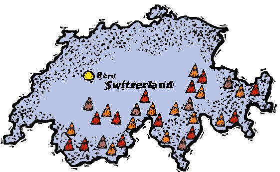 Switzerland graphics
