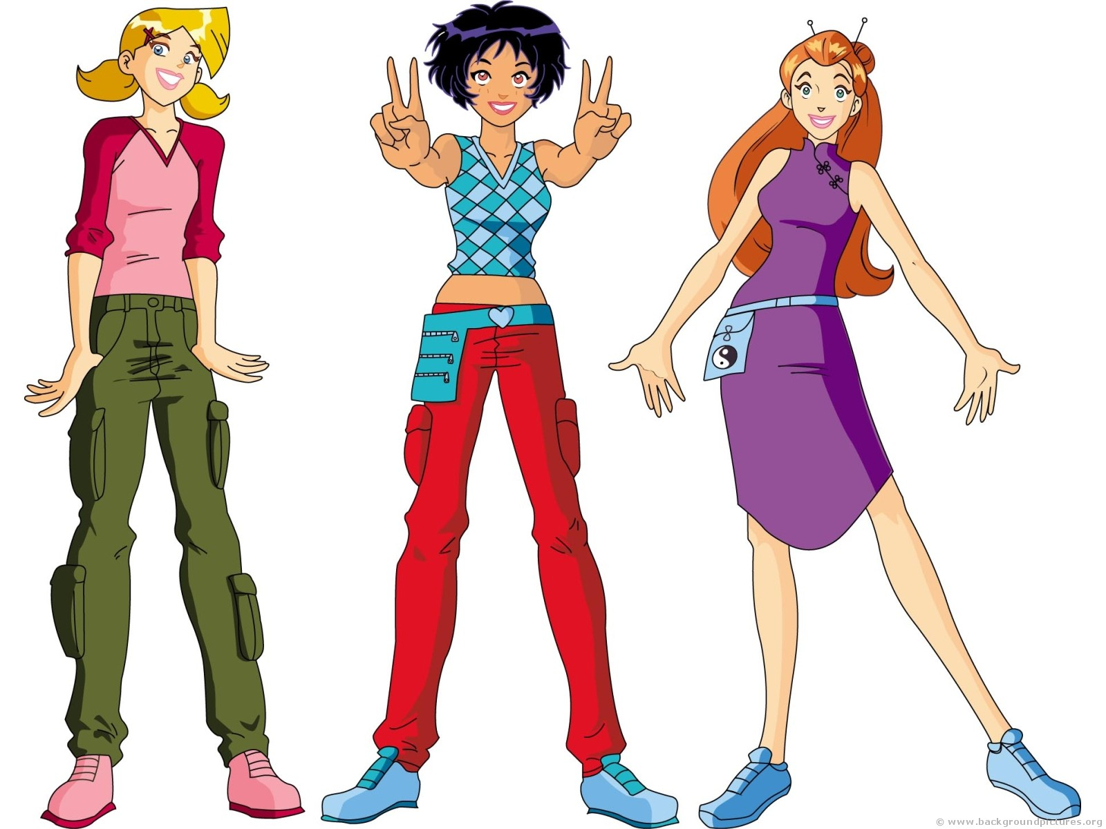 Totally spies Graphics
