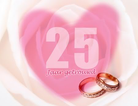 Wedding anniversary 25th graphics