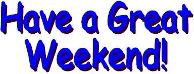 Weekend graphics