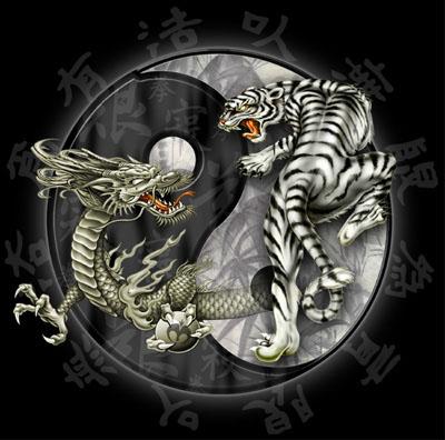 Yin yang graphics