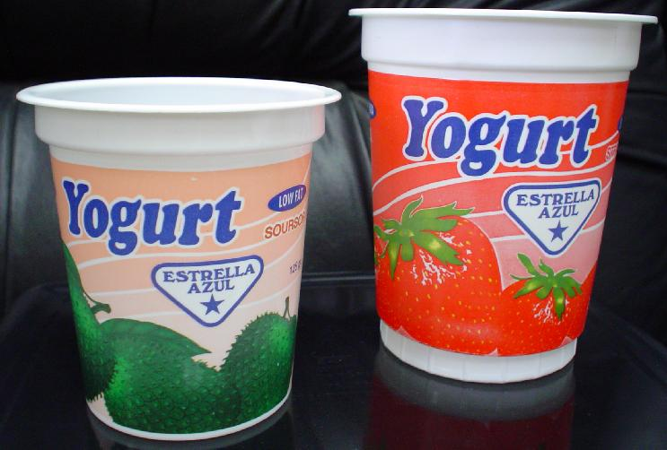 Yogurt graphics