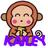 Monkeys icon graphics