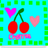Cherries Icons Icon graphics