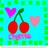 Cherries icon graphics