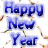 New year Icons Icon graphics