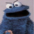 Cookie monster icon graphics