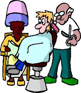 Hairdresser job graphics