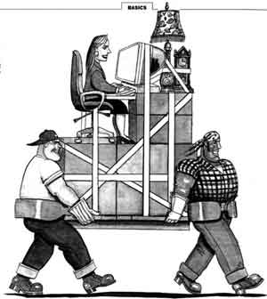 Mover job graphics