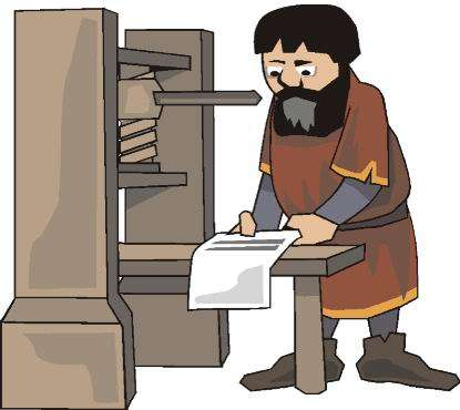Printing office job graphics