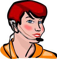 Job graphics Telephonist