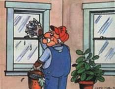 Window cleaner job graphics