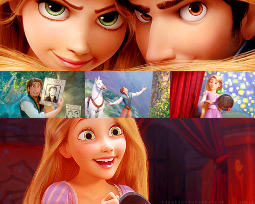 Rapunzel movies and series