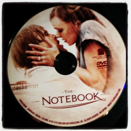 Movies Movies and series The notebook