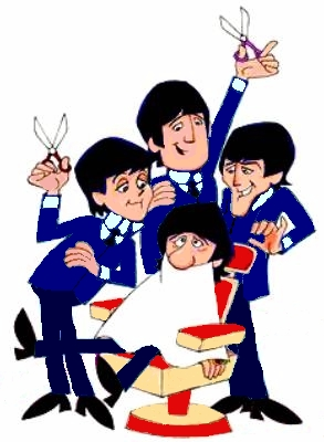 Beatles music graphics