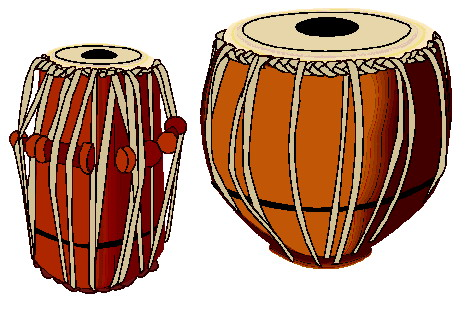 Bongo music graphics