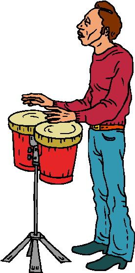 Bongo music graphics