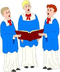 Choir music graphics