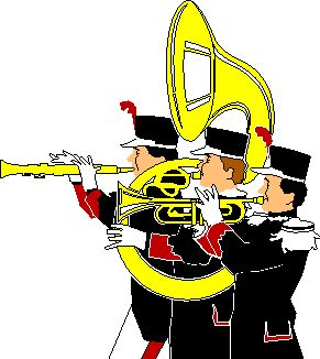 Fanfare music graphics