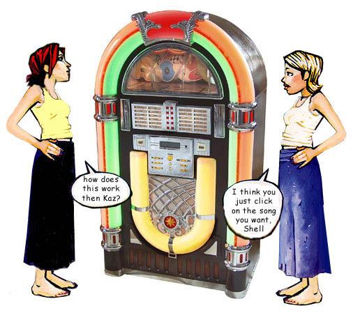 Jukebox music graphics