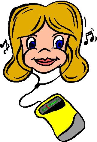 Listening to music music graphics
