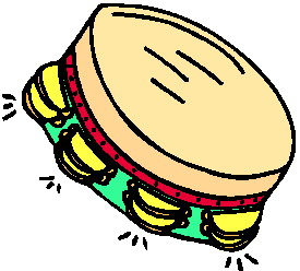 Music graphics » Tambourine Music graphics