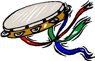 Tambourine music graphics