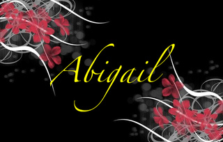 Abigail Name graphics